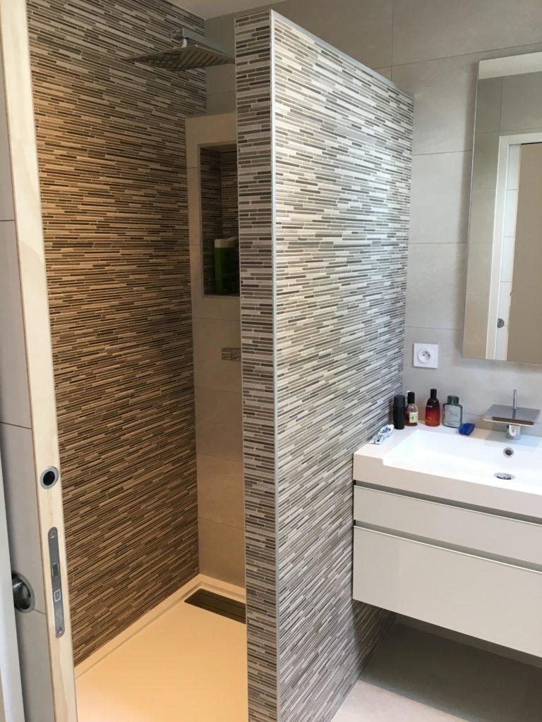 LCD - Pose de carrelage salle de bains, douche et baignoire