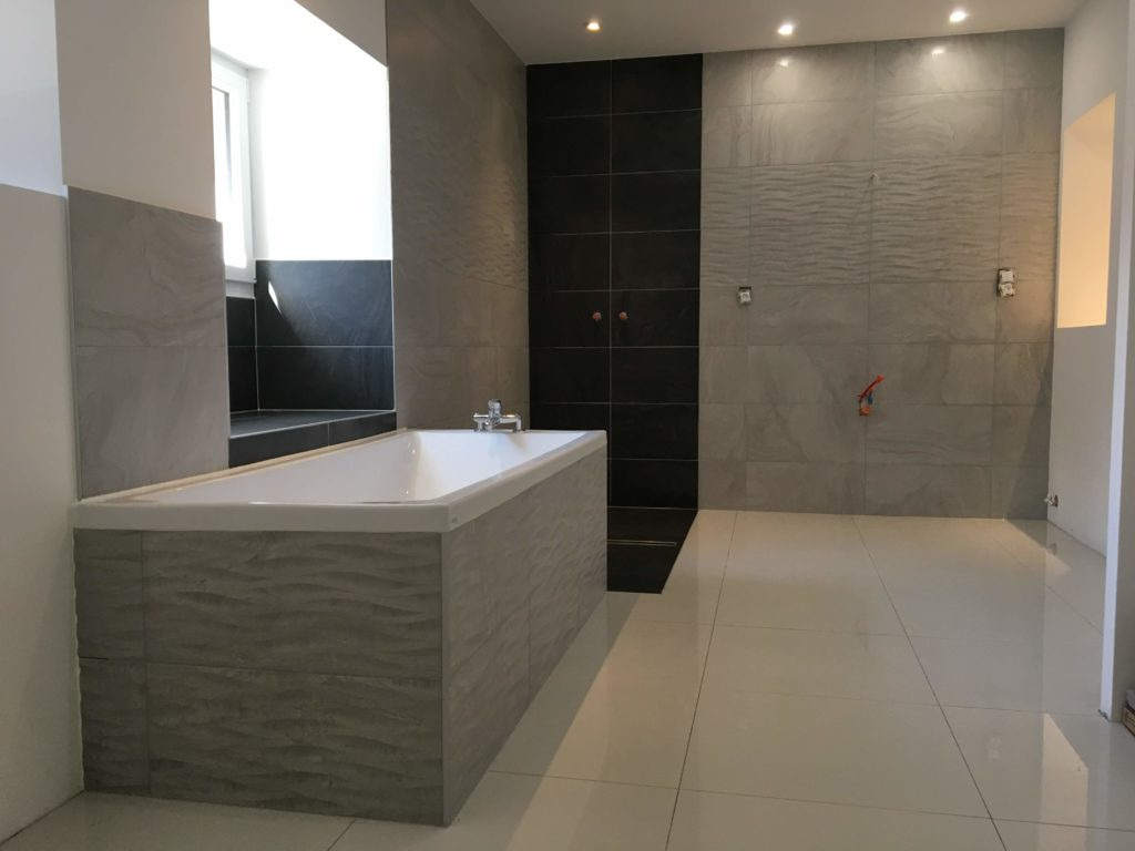 LCD - Pose de carrelage salle de bains